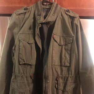 NWOT Military jacket